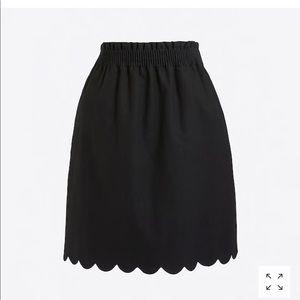 Tags Still On! J. Crew black skirt
